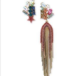 Betsey Johnson Star mismatch Earrings